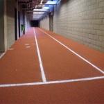 Couloir d'athlétisme