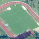 Terrain de football gazon