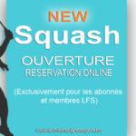 Gagnez du temps, réservez votre terrain de squash en ligne