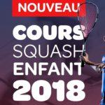 Nouveau: Cours de squash enfants